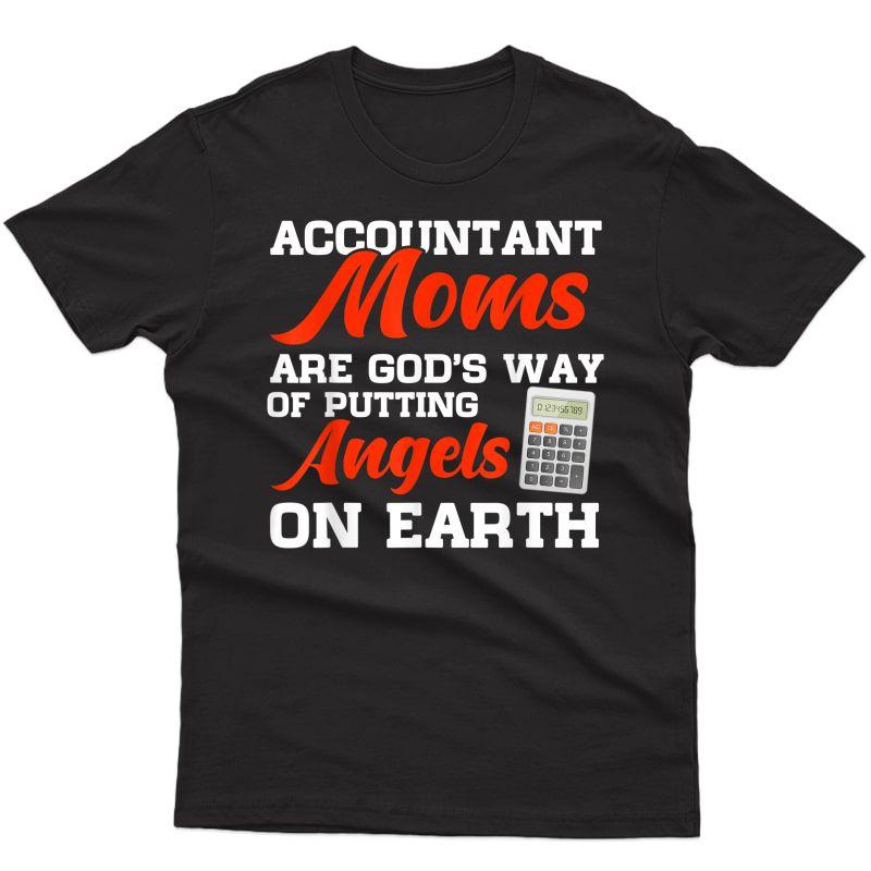 Accountant Moms Christmas Gift T-shirt
