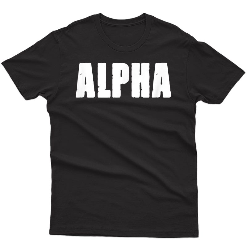 Alpha Gym Rabbit Tshirt Workout Bodybuilding Ness F010