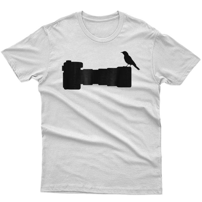 Bird Photographer Shirt Wildlife Photography Camera