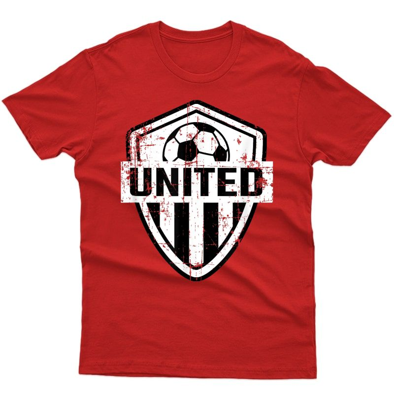 D.c. Soccer Style United Football Fan Dc T-shirt