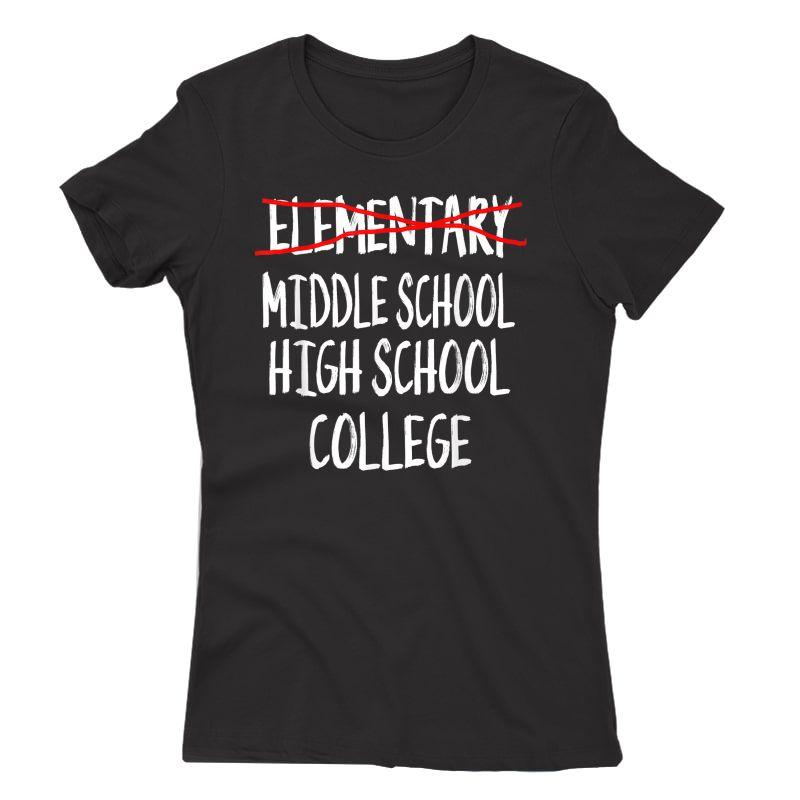 Funny Eletary Graduation Gift-2021 6th Grade Graduation T-shirt