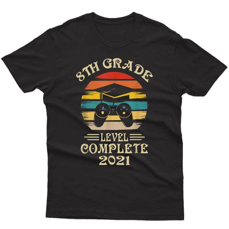 Gamer 8th Grade Graduation Gifts For Girls 2021 T-shirt