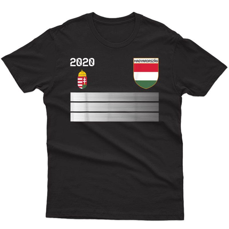 Hungary Football 2020 Magyarország Soccer T-shirt