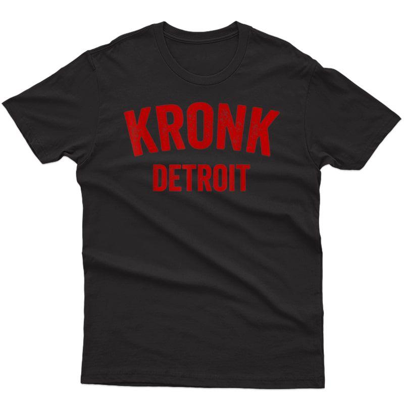 Kronk Gym Detroid Boxing Gym T-shirt