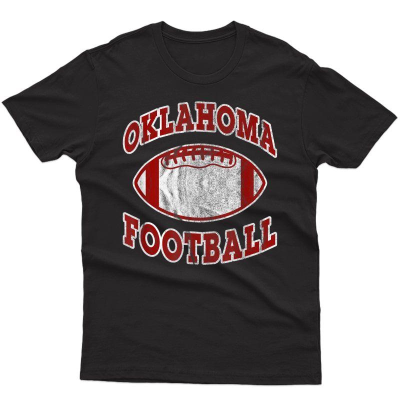 Oklahoma Football Vintage Distressed T-shirt