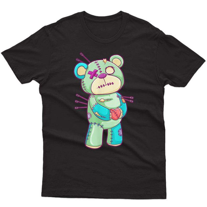 Pastel Goth Teddy Bear Nu Goth Hera Kawaii Anime T-shirt