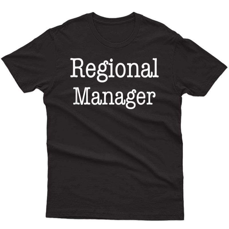 Regional Manager, Funny Office T-shirt