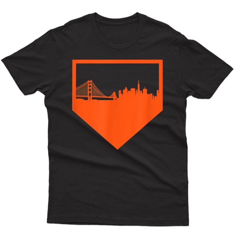 San Francisco Baseball Vintage Sf Pride The City Gift T-shirt