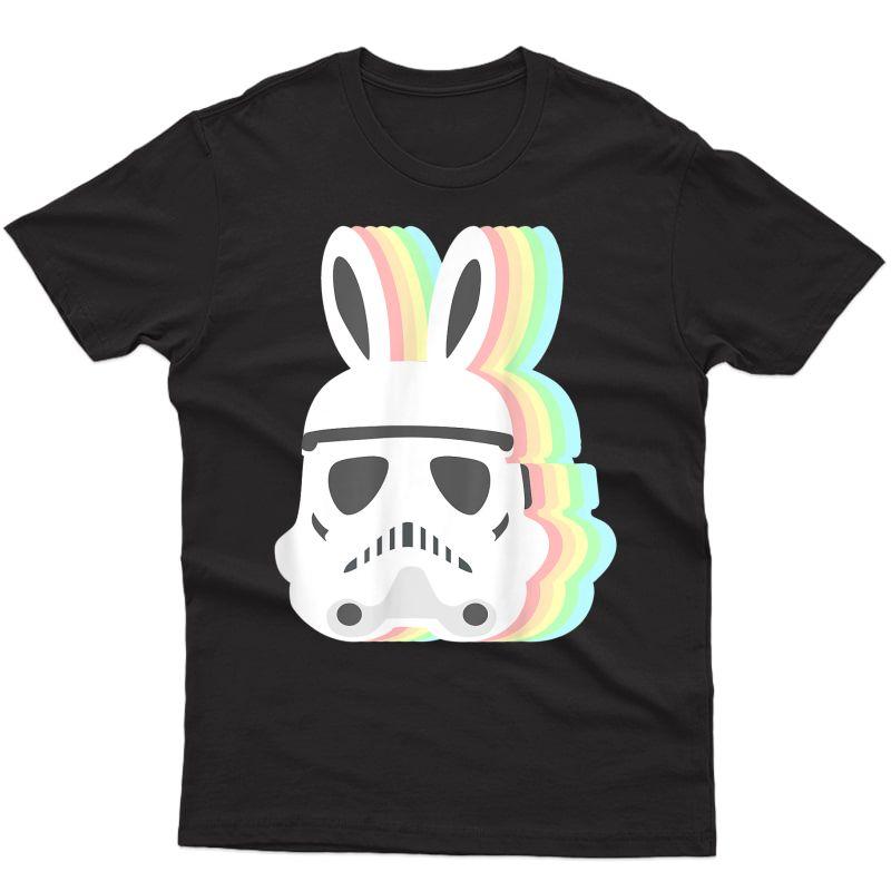 Star Wars Easter Storm Trooper Pastel Easter Ears T-shirt