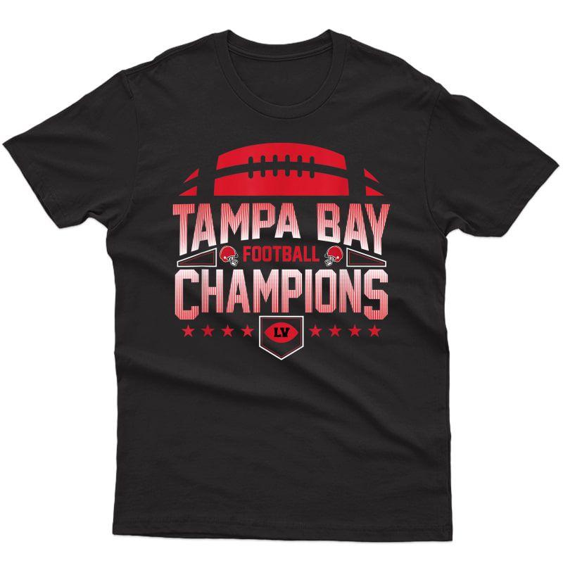 Tampa Bay Football Champions T-shirt