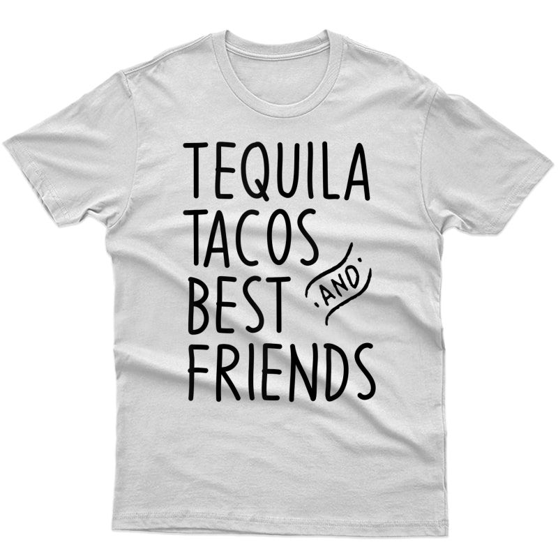 Tequila Tacos And Best Friends Funny Cinco De Mayo Tank Top Shirts