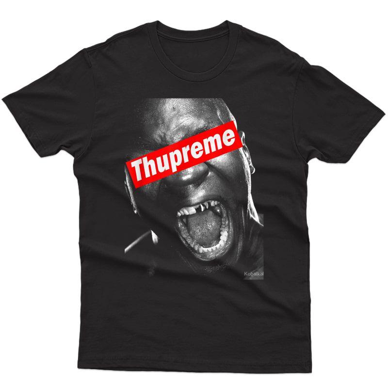 Thupreme Funny Boxing Lisp T-shirt