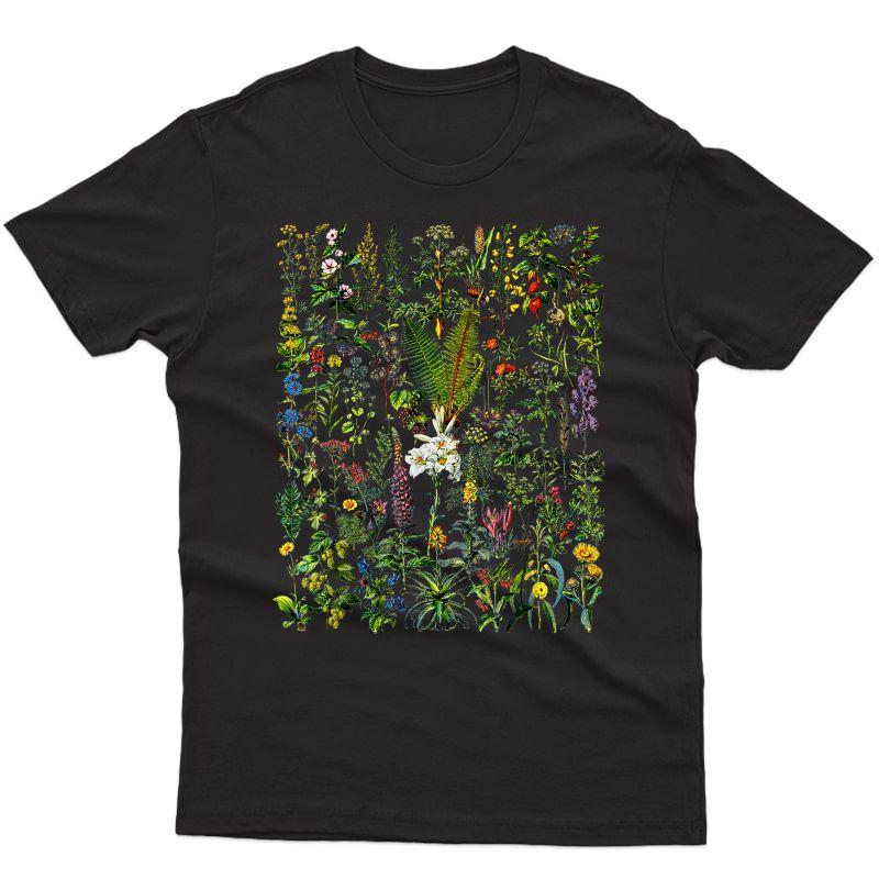 Vintage Flower Shirt, Flower Tshirt, Plant Tshirt, Gardening T-shirt